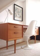 Teak Vintage/Retro Fixed Home Office Furniture