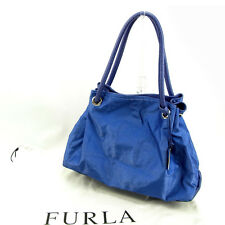 Furla Tote bag Blue Woman Authentic Used Y5285