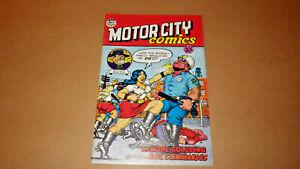 Motor City Comics No. 1 1969 Rip Off Press 4th Printing VF/NM 9.0 Robert Crumb
