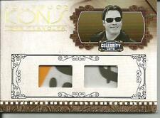 2008 DONRUSS CELEBRITY CUTS - HOLLYWOOD ICONS - DOUBLE PATCH - JOHN TRAVOLTA 2/5