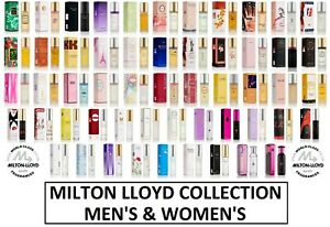 Milton Lloyd Mens Perfume Aftershaves Fragrance For Men For Women For Ladies