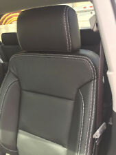 Chevy Silverado LT Double Cab BLACK KATZKIN LEATHER SEAT REPLACEMENT COVERS