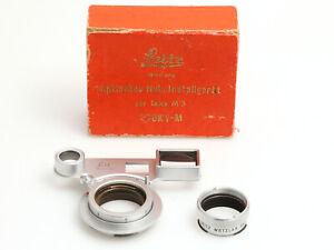 Leica Leitz SOOKY-M Optisches Naheinstellgerät zur Leica M3