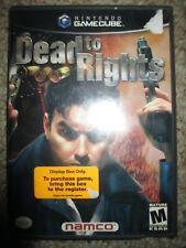 Dead to Rights 1 (Nintendo GameCube, 2002) w/ Case