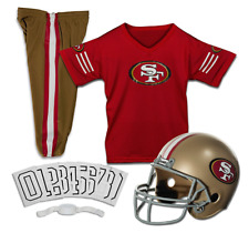 YOUTH SMALL San Francisco 49ers NFL UNIFORM SET Game Day Football Costume 4-7yrs