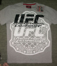 UFC Ceinture du championnat T Shirt Large L. MMA KSW Jujitsu Muay Thai Boxing Gym WWE NEUF
