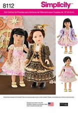 SEWING PATTERN! MAKE VICTORIAN STYLE DOLL CLOTHES! FITS AMERICAN GIRL SAMANTHA