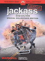 Jackass: The Movie (DVD, 2003, Widescreen) Johnny Knoxville