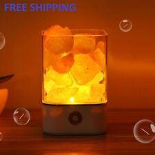 100% GENUINE HIMALAYAN SALT LAMP CRYSTAL PINK ROCK NATURAL HEALING