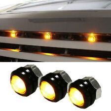 3 x Ford SVT Raptor Style LED Amber Grille Lighting Kit, Universal Fit Truck SUV