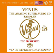 V.A.-VENUS THE AMAZING SUPER AUDIO CD SAMPLER VOL.18-JAPAN SACD J76