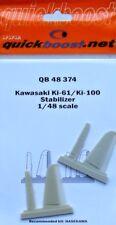 Quickboost 1/48 KAWASAKI ki-61/ki-100 Estabilizador #48374