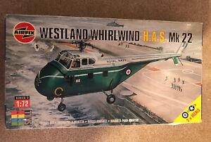 Vintage Airfix 1998 Model Kit Westland Whirlwind H.A.S Mk 22