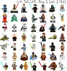 Star Wars Minifigure Lego &Custom Episode I - VI Empire Strikes Back Mini Figure