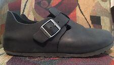 Birkenstock Women's London Black Oiled Leather Size 39