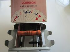 Vintage Johnson Card Shuffler