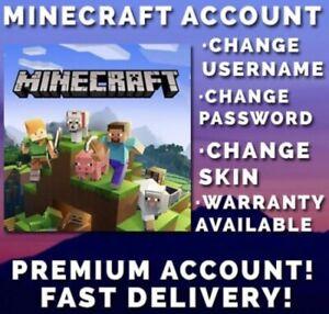 Minecraft Java Premium Account