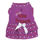 Summer Pet Dress Lovely Dot Design Dog Clothes Princess Skirt Puppy Cat Apparel