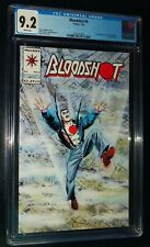 Bloodshot #6 1993 Valiant Comics CGC 9.2 NM- White Pages
