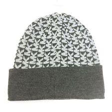 MIchael Kors Womens Beanie Logo Winter Hat One Sz Black Gray Camel Beige 6a2b7a79f857