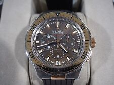 Zenith El Primero Stratos Flyback 18k / Stainless Steel Brown Dial Watch