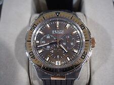 Zenith El Primero Stratos Flyback 18k Gold / Stainless Steel Brown Dial Watch