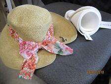 TWO NEW w tags Dana Buchman & Sonoma Packable Floppy Sun Hat Beach Straw Hat