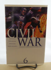CIVIL WAR #6 Of (7) 1ST PRINT NM MARVEL COMICS 2007 MARK MILLAR STEVE MCNIVEN