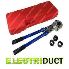 """Mechanical Crimping Tool w/ Telescoping Handles - 1/2"""" to 1"""" - Electriduct"""