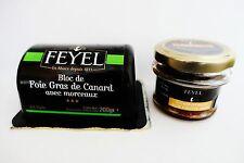 Bloc Foie Gras de Canard avec compote original canards foie Feyel France!