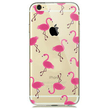 NEW CUTE PINK FLAMINGO TREND FASHION PHONE CASE FOR IPHONE 6/6S