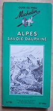 guide MICHELIN vert ALPES SAVOIE DAUPHINE 1964