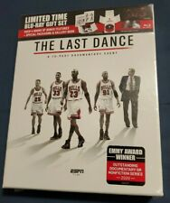 The Last Dance 10-Part Documentary(Blu-Ray Box Set) Chicago Bulls Michael Jordan