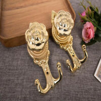 Oval Floral Flower Rose Coat Hook Hooks Wall Mounted Door Hook Jian