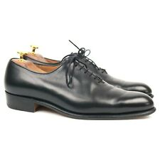 J.M. Weston Black Leather Wholecut Oxford UK 7 D