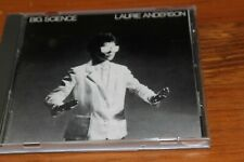 LAURIE ANDERSON Big Science RARE WEST GERMANY TARGET CD MINT