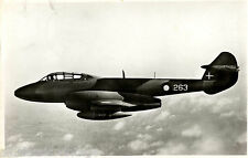 Postcard 991 - Aircraft/Aviation Real Photo Gloster Meteor Trainer T. 7