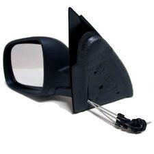 Seat Arosa 97-00 Spiegel Aussenspiegel mechanisch kleine Version schwarz Links