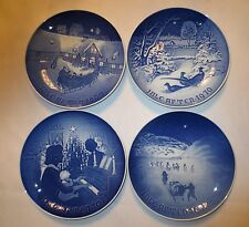 4 Royal Copenhagen Porcelain Christmas p