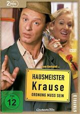 2 DVDs * HAUSMEISTER KRAUSE - STAFFEL 3 ~ Tom Gerhardt # NEU OVP  =