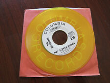 RIP CHORDS Hey Little Cobra /same YELLOW VINYL Surf Promo 45 Bruce Johnston