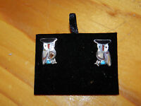 OLDER SUPERB INLAID TURTLES//SLEEPING BEAUTY TURQUOISE CORAL AND JET//STERLING//FS