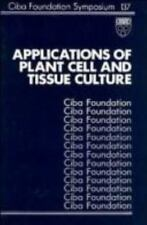 Applications of Plant Cell and Tissue Culture - Symposium No. 137-ExLibrary