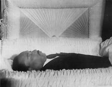 Martin Luther King Jr. Photo in Casket at his Funeral