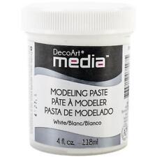 DecoArt Media Modeling Paste 4oz (118ml) - White DMM21