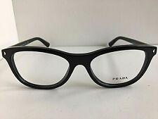 New PRADA VPR 0R5 1AB-1O1 53mm Black Women's Eyeglasses Frame #5