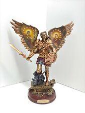 Bradford Exchange Archangels Of Light Orphiel Cold Cast Bronze Sculpture