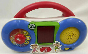 Leapfrog Fridge DJ Toy Radio Light Music Talking Learning Magnet w/Batteries EUC