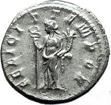 GORDIAN III 244AD Authentic Genuine Ancient Silver Roman Coin Felicitas  i59125