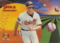 Cal Ripken Jr. 1995 Sportflix UC3 #75 Baltimore Orioles baseball card  HOF